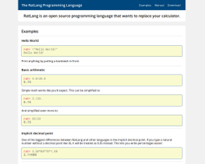 RatLang Programming Language Preview